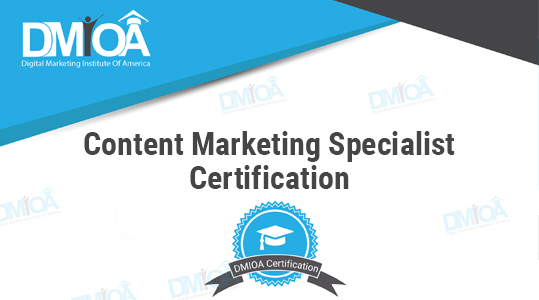 Content Marketing Specialist Certification