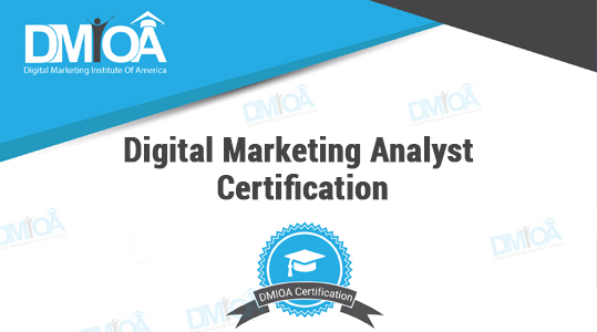 Digital Marketing Analyst Certification