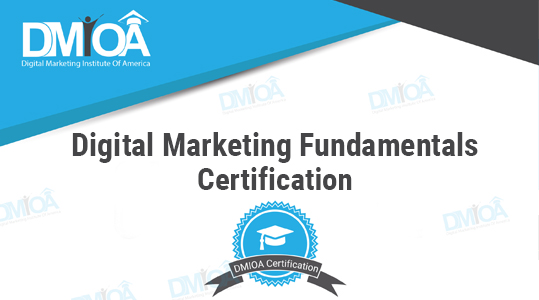 Digital Marketing Fundamentals Certification